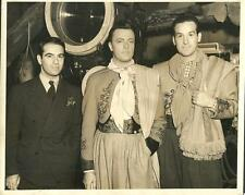 Alberto Vila Carlos Barbe They Met in Argentina 1941 original movie photo 23843