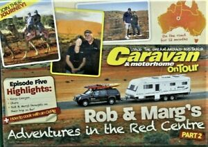 CARAVAN & Motorhome ON TOUR Rob & Marg THE RED CENTRE Part 2 DVD DISC ONLY #150