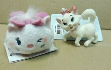 Lot Marie The Aristocats 2015 Disney Store Sketchbook Ornament and tsum plush