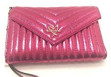 VICTORIA'S SECRET PINK LOVE WALLET AND COIN PURSE WITH SIGNATURE SNAP NEW!