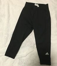 New ADIDAS Techfit Capri 3/4 GYM exercise Yoga Leggings Pants Sz S Mothers Day