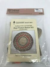 Wildwoods Craft Kit Traditional Native American Hopi Wicker Basket Kit ~ NEW ~