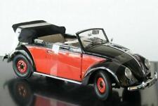 + VOLKSWAGEN VW Käfer 1200 Brezel Cabrio in 1:12  Sunstar 1949 NEU 5211