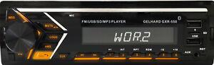 MP3-Autoradio Bluetooth Freisprechfunktion RDS USB SD 4x50 W Gelhard GXR550 Neu