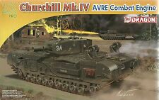 Dragon 1/72 (20mm) Churchill Mk IV AVRE Combat Engineer