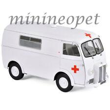 NOREV 184699 1963 PEUGEOT D4B AMBULANCE 1/18 DIECAST MODEL CAR WHITE