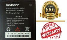 100% Original hi back up Karbon A30 Battery for Karbonn A30 Mobile in 2500mAh