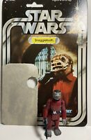 Star Wars Vintage Snaggletooth MINT 1977 W/Cardback Kenner Action Figure