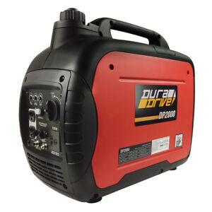 DuraDrive DP2000 Ultra-Quiet Lightweight Gas-Powered Inverter Generator