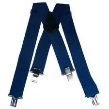 OnTour Motorcycle Motorbike Heavy Duty HD Braces for Trousers/Leathers - Blue
