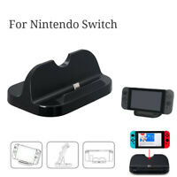 Unique Portable Type C Charging Charger Stands Cradles Dock For Nintend o Switch
