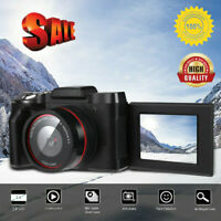 Digital 1080P 16MP Camera Professional Video Camcorder Vlogging Flip Selfie Cam#