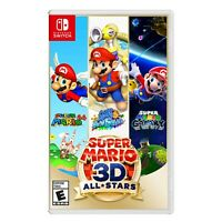 Super Mario 3D All Stars Nintendo Switch Limited Release NEW Sealed IN HAND