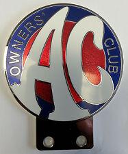 AC Owners Club Badge Plakette Cobra Ace Greyhound Aceca Bristol
