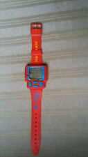 Vintage 1990 Nintendo Red Super Mario Bros 3 Wrist Game Watch