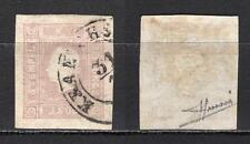 #862 - Austria - 1,05 kreuzer per giornali, 1858 - Usato / Firmato Sorani