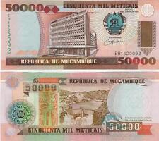 A SAISIR   BILLET   50 000   METICAIS   MOZAMBIQUE    NEUF  1993     !!!!    UNC