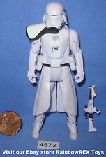 Star Wars 2016 FIRST ORDER SNOWTROOPER OFFICER TFA 3.75 inch Figure COMPLETE
