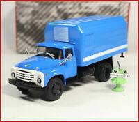 "1:43 ZIL 130 LUMZ 890B Kuhlkoffer ""Unsere LKW"" №6 russian truck USSR UdSSR LKW"