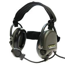 Z-Tactical Liberator II TCI Radio Head Set Foliage Green Army Style Airsoft Z039