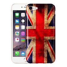 Hardcase für Apple iPhone 7 Schutzhülle Tasche Cover England UK GB retro Flagge