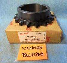 """BROWNING ROLLER CHAIN SPROCKET H50TB17 1610 TAPER BUSHING, 3.72"""" OD"""