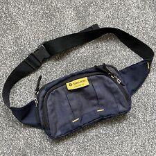 Rare Vintage Samsonite Denim Bum Bag Waist Pouch Fanny Pack Bumbag Blue