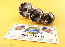 Carbide HoleSaw Cutter Hole Saw Tungsten Drill Bit TcT Metal Holesaw MADE IN USA