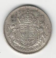 Canada 1947 50 Cent Silver