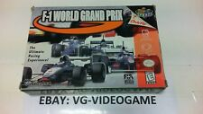 F-1 WORLD GRAND PRIX NINTENDO 64 NTSC !!