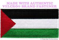 PALESTINE FLAG EMBROIDERED PATCH MUSLIM PLO EMBLEM w/ VELCRO® Brand Fastener