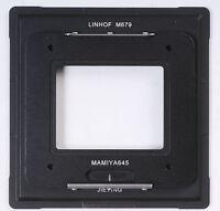 Adapter AFD Mamiya 645 Back To Linhof M679 F Phase One Leaf Sinar Digital Back