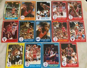 1984 STAR MICHAEL JORDAN ROOKIE RC REPRINT NBA BASKETBALL CARDS