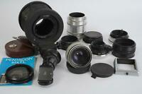 Carl Zeiss Jena Tessar 80mm 1:2.8 (Pentacon Six mount) + lots of accs.