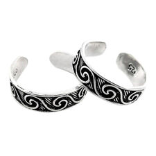 Ring Indian Woman Gift Jewelry Rs60 Handmade Solid 925 Sterling Silver Toe