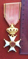 Belgique - Rare et Superbe Croix d'Honneur du Sauveteur (1905) - rare