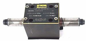 PARKER D3W4CNYW DIR. CNTRL. SOLENOID VALVE 120/60-110/50 V/HZ 0.72-0.80 AMPS