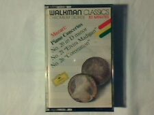 GEZA ANDA Mozart Piano concertos n. 20 - 21 - 26 mc cassette k7 SIGILLATA SEALED