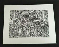 """R. Jones """"Spiral Day at Galaxy, Inc."""" Lithograph Signed & Numbered 52 of 300"""
