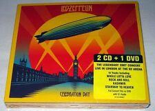Led Zeppelin - Celebration Day (2012) / 2 CD + DVD (PAL) NEW digipak (CD Size)