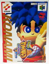 Mystical Ninja Mizusawa Goemon nus-ng5j-jpn CIB Nintendo 64 n64 JAP JAPAN