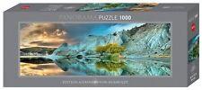 hy29715 - Heye PUZLES - Panorama, 1000 piezas - azul lago