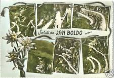 SALUTI DA S.BOLDO - VEDUTINE - CISON (TREVISO) 1966