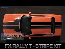 Dodge Challenger Rally Hood Full T SRT Style Stripe Kit Dealer Quality Stripes