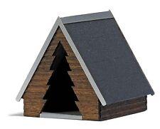 Busch 1561 HO: Houten beschutte hut 2