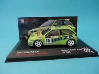 SEAT IBIZA KIT CAR - ROVANPERA - RALLY RAC NETWORK Q 1996 - 1/43 NEW IXO ALTAYA