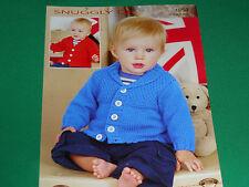 Babys cardigans size 16-26  knitting pattern