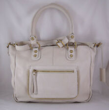 Linea Pelle Dylan Crossbody Tote in Sand NWT