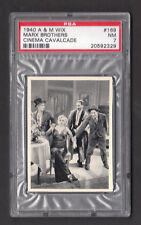 The Marx Brothers Groucho 1940 A & M Wix Cinema Cavalcade Card #169 PSA 7 NM