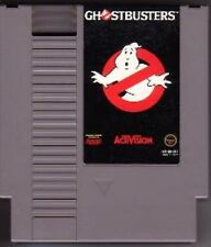 GHOSTBUSTERS ORIGINAL CLASSIC NINTENDO GAME SYSTEM NES HQ